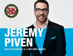 Jeremy Piven Dinner Show at Ruths Chris and Yuk Yuk's in Niagara Falls Ontario Canada September 2018